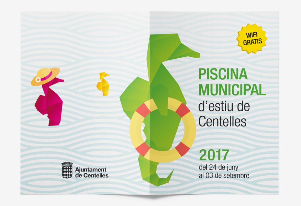 Senyal tica pisca estudi de disseny gr fic i web for Piscina municipal centelles
